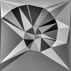 Geometric abstraction. (RichardByers01) Tags: abstract abstractart abstractphotography geometric geometricart blackandwhite monochrome shapes mathematics science future futuristic futurism