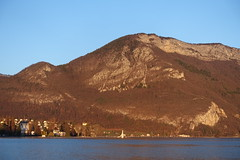 Mont Veyrier @ Annecy (*_*) Tags: march 2019 hiver winter afternoon europe france hautesavoie 74 annecy savoie lacdannecy lakeannecy lac lake sunset sunny mountain