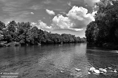 Croatia, Pravutina,Kupa - Clouds over the river Kupa (Marin Stanišić Photography) Tags: croatia river kupa pravutina clouds karlovaccounty flickrunitedaward