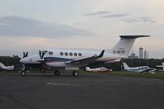 G-DXTR (IndiaEcho) Tags: gdxtr beech king air egtf fairoaks airport airfield chobham surrey england light ceneral civil aircraft aeroplane aviation canon eos 1000d