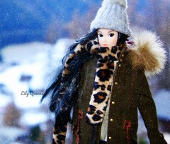 Tag Game: Snow Time!!! (♥ Lily Queens ♥) Tags: jane reroot momoko ooak sekiguchi doll tag game snow dancing with kittens sweet version custom