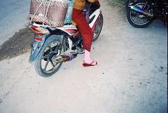 ride with style (subway rat) Tags: 35mm analog film analogphotography filmphotography olympus μmjuii mjuii mju2 olympusmjuii kodak kodakultramax400 kodakfilm hsipaw myanmar burma asia traveling streetphotography streetlife streetphoto everybodystreet filmforever filmisnotdead filmcamera shootfilm ishootfilm staybrokeshootfilm motorbike rainbow