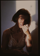 D-5 (carolineegrzelak) Tags: dark light girl portrait nikon analog film somewheremagazine kodak portra kodakportra400 analoguefilm 400vc filmfilmforever karolina grzelak karolinagrzelak carolinegrzelak caroline