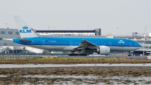 KLM - Air France Boeing 777 -200ER PH-BQP