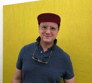 Jonathan Gonzalez, owner of Tile Blush Gallery during the progressive brunch in Little River