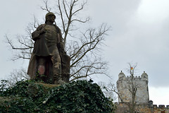 Bad Bentheim (l-vandervegt) Tags: 2019 nikon d3200 tamron duitsland germany deutschland nedersaksen niedersachsen badbentheim bismarckmonument bismarck monument standbeeld statue