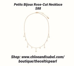 Today's Featured Item: Petits Bijoux Rose-Cut Necklace $88 Shop: https://www.chloeandisabel.com/boutique/thecelticpearl/products/N688CLRG/petits-bijoux-rose-cut-necklace  Live life in full bloom with a bouquet of delicate, rose-cut cubic zirconia crystal. (thecelticpearl) Tags: love trending new spring2k19 shop trend crystal buy lifetime guarantee chloeandisabel red gold daily feature trendy trends shopping earrings floral jewelry product flowers crystals boutique accessories thecelticpearl enamel spring flower convertible velvet ootd candi vintage online style fashion