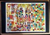 """BLOODLINES"" (PreZen) Tags: tat acrylicpaint myart art manshapedstar hexagons figures sanfranciscoartist abstracts abstractmovement colorlove"