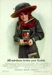 Vintage Kodak Ads (The Vintage Lens) Tags: kodak ad vintage old