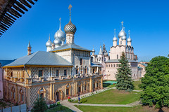 Kremlin in Great Rostov (Russia) (KonstEv) Tags: church cathedral rostov russia kreml kremlin dome cross architecture building palace temple religion museum house
