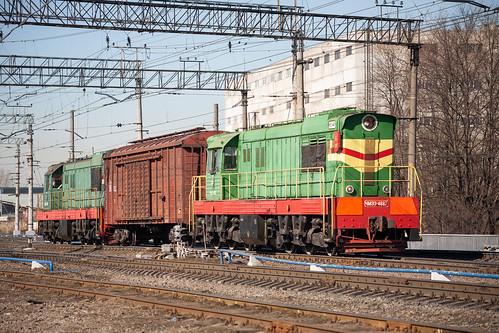 ЧМЭ3-4667, станция Волковская ©  neu_zwei