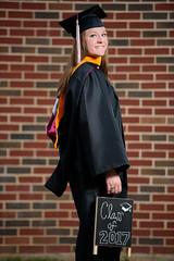 2017_04-Amanda-Grad 2203 (Jeremy Herring) Tags: cap girl gown graduate graduation individuals outdoor photography photos portrait schreineruniversity woman