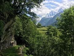 Soglio, Bergell, Switzerland (swissuki) Tags: soglio switzerland landscape nature mountains trees