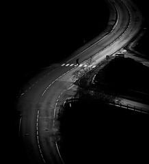 Curved (MortenTellefsen) Tags: curve street streetphoto road monochrome blackandwhite blackandwhiteonly