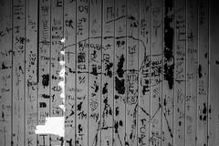 Writings On The Wall (tyrellblack87) Tags: abandoned writing wall grafiti light shadow contrast blackandwhite blackwhite bw fujifilm fuji fujix100t