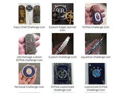 Challenge Coin Custom Design 1 (pitchandrudderus) Tags: custom challenge coins design pitch rudder maker belt buckles