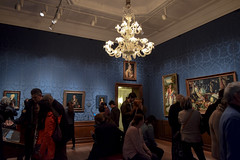 don't burst their bubble (Lisa RT.) Tags: museum art paintings people mood message photography nikon d3300 mauritshuis netherlands atmosphere room setting