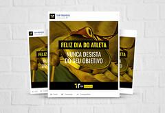 Post Facebook especial dia do atleta (Anderson Designer) Tags: post card facebook midias sociais social media anderson lima adn designer clientes nippon telhas mikami top troféus trofeis agencia talq brasília df brasil brazil web