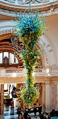 Victoria & Albert Museum (Roy Richard Llowarch) Tags: victoriaandalbert victoriaalbert vamuseum victoriaalbertmuseum theva thevictoriaandalbertmuseum museums museum london londonengland ldn victorian england english englishheritage englishhistory art royllowarch royrichardllowarch travel travelling daytrips uk unitedkingdom chihuly dalechihuly glass blownglass sculpture sculptures glasssculpture glasssculptor chandelier chandeliers glassart