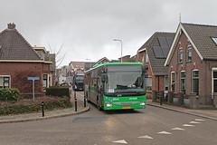 Qbuzz 6515 - Meerkerk, Gorinchemsestraat (Daniël Bleumink) Tags: qbuzz bus iveco crosswayle streekbuzz meerkerk lijn81