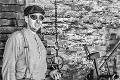 Blacksmith (photographybytomlane) Tags: leica leicasl monochrome people blackandwhite