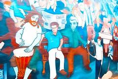 Graffiti (gusdiaz) Tags: graffiti art wall colorful urban city noda charlotte nc artistic arte artistico colorido fantastico ciudad calle street urbano fuji fujifilm xt2