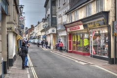 Fore Street, Sidmouth, Devon (Baz Richardson) Tags: devon sidmouth forestreetsidmouth shops streetscenes
