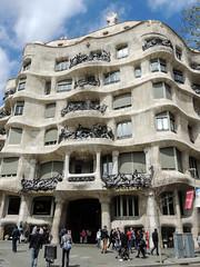 Casa Milà/La Pedrera (dckellyphoto) Tags: lapedrera casamilà 2015 barcelona spain catalonia antonigaudí gaudi architecture building exterior