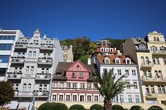 Beautiful Architecture (elianek) Tags: czech europe tcheca europa karlovyvary karlovy architecture arquitetura cores colors blueskies canon