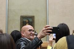 Selfie avec elle (bsupranzetti) Tags: france frança paris museedulouvre louvre louvremuseum selfie gioconda monalisa davinci