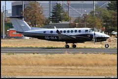 "Hawker Beechcraft 350 ""King Air"" OO-OCA FL-672 Frankfurt septembre 2018 (paulschaller67) Tags: hawker beechcraft 350 kingair oooca fl672 frankfurt septembre 2018"