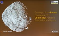 DAK_5254r (crobart) Tags: bennu osirisrex asteroid samplereturn mission rom connects talk public royal ontario museum