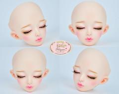 Fairyland minifee Eva NS. SP. (♥..Nomyens..♥) Tags: bjd balljointdoll toy doll custom faceup paint painting painted repaint handmade nomyens nomyenscom fairyland minifee eva msd