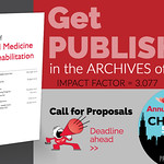 Get Published in the ARCHIVES of PM&R with IMPACT FACTOR of 3.077 thumbnail