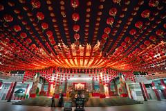 Chinese Lanterns in Kuala Lumpur (Trey Ratcliff) Tags: kualalumpur malaysia stuckincustomscom treyratcliff chinese lanterns red display culture customs hdr hdrtutorial hdrphotography hdrphoto aurorahdr travel