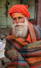 India series (Nick Kenrick.) Tags: sadhu india hindu turban yogi