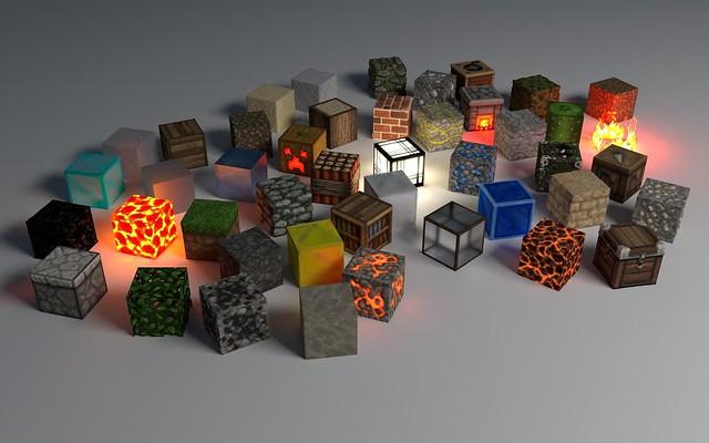 Обои кубики, форма, свечение, фон картинки на рабочий стол, фото скачать бесплатно