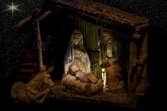 Week #51, Holiday Wishes (lleon1126) Tags: christmas nativity trevorcarpenterphotochallenge awayinamanger manger stable nativityscene truemeaningofchristmas achildisborn starintheeast friendlychallenges creches