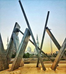 Shapes (albatta.ihab) Tags: abudhabi uae archetecture artistic art construction concept abstract shapes mosque cool sky skyline dusk