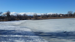 February 15, 2019 - A frozen over Waneka Lake. (Jennifer McNeil)