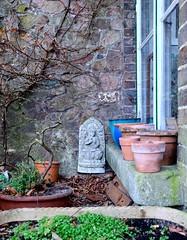 Buddha-nature, hiding in plain sight (Kumukulanui) Tags: buddha buddhism statue stannswell octagon greatmalvern malvern malvernhills worcestershire cafe nooks crannies self