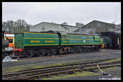 No 34081 92 Squadron 10th March 2019 Nene Valley Railway Southern Steam Gala (Ian Sharman 1963) Tags: no 34081 92 squadron 10th march 2019 nene valley railway southern steam gala class wc bb west country and battle of britian 462 station wansford engine rail railways train trains loco locomotive passenger peterborough nvr nv heritage line