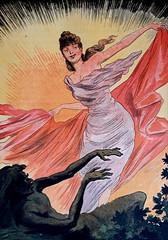 Sunrising (Illustrated Collection) Tags: rising sunrising night day nightandday belleepoque illustration sunrise