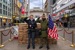 Checkpoint Charlie, Berlin (Jutta Achrainer) Tags: achrainerjutta berlin checkpointcharlie sonya9 hobbyfotografen