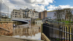 Flooded River Ouse, York, March 2019 - 1 (nican45) Tags: weather building bridge waterway ouse samsung clouds light flood galaxys8 march museumgardens lendalbridge reflection mobilephone sky 18032019 yorkshire 2019 york river 18march2019 riverouse smg950f flooding floods england unitedkingdom gb
