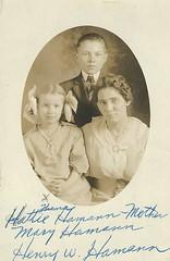 Hattie Thoma Hamann with Mary Hamann & Henry W. Hamann (lyndahoffman78) Tags: hattie thoma hamann with mary henry w