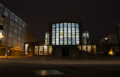 St Paul's (nigdawphotography) Tags: stpauls church lights windows worship harlow towncentre essex