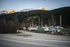 JRS_0879 (spruce_dweller) Tags: skagway alaska mountain sunset boats