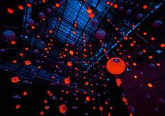 Inside an Artistic Neutrino Detector (redfurwolf) Tags: art neutrino detector reaktorhalle tum munich science southpole redfurwolf sonyalpha germany indoor