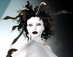Medusa: Between Light and Darkness (beccaprender) Tags: catwa catya bento maitreya lara cureless emotions boundelegance boundtoexcite fantasy monster